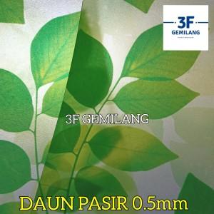 Harga fiber plastik penutup pagar econoplas 50 motif daun pasir   HARGALOKA.COM