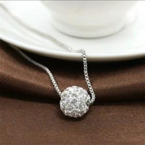 Harga kalung wanita fashion korea rosba klg0022 liontin cantik | HARGALOKA.COM