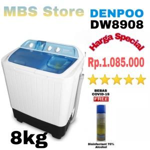Harga mesin cuci denpoo dw 8908 4p 8kg 2   HARGALOKA.COM