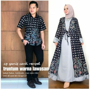 Harga sarimbit batwing batikcouple manohara baju keluarga kebaya   | HARGALOKA.COM