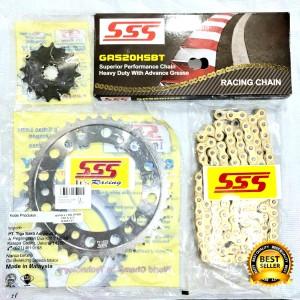 Harga gear set sss honda cbr 250 rr cbr 250 led all new cbr 250rr tipe | HARGALOKA.COM
