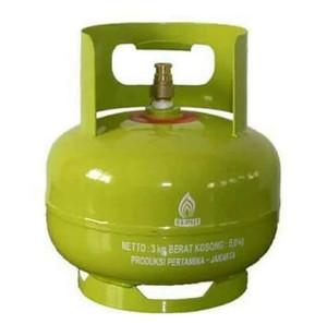 Harga tabung gas lpg 3kg isi grab dan gojek only | HARGALOKA.COM