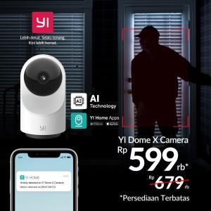 Harga ip camera cctv wifi spy cam xiaomi yi dome x 1080p versi | HARGALOKA.COM