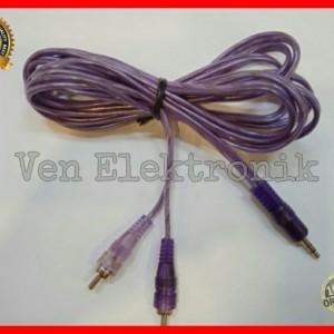 Harga kabel jack aux 1 in 2 kabel speaker laptop apmlifier multimedia | HARGALOKA.COM