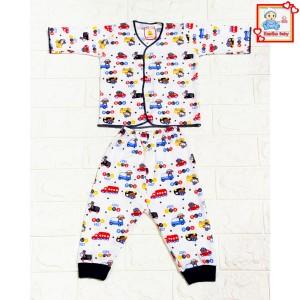 Harga setelan baju bayi lengan panjang set baju bayi unisex piyama bayi   | HARGALOKA.COM