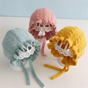 Harga topi kupluk rajut casual handmade aksen ruffle untuk bayi perempuan us   | HARGALOKA.COM
