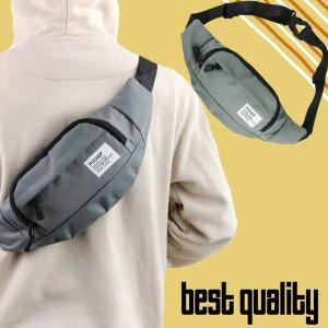 Harga tas pinggang selempang slempang waistbag waist bag pria | HARGALOKA.COM