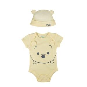 Harga romper baby bodysuit set2in1 hm motif wini kuning baju bayi amp anak   | HARGALOKA.COM