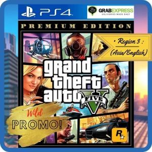 Harga grand theft auto v premium edition kaset ps4 ps 4 game gta v   HARGALOKA.COM