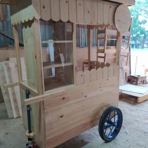 Harga gerobak kayu jati belanda real | HARGALOKA.COM