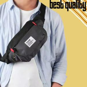 Harga tas waistbag waist bag pinggang selempang slempang pria | HARGALOKA.COM