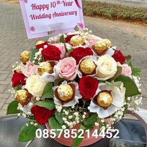 Harga toko bunga flower box mawar karangan bunga bunga toko bunga | HARGALOKA.COM