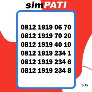 Harga simpati jaringan 4g lte nomor cantik kartu perdana telkomsel | HARGALOKA.COM