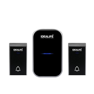 Harga Idealife Il 301 Wireless Doorbell Bel Pintu Wireless Battery Dc Katalog.or.id