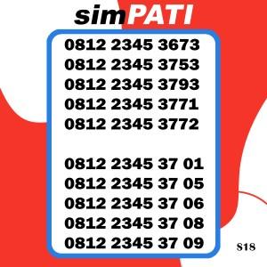 Harga kartu perdana simpati 4g lte telkomsel nomor cantik bagus dan | HARGALOKA.COM