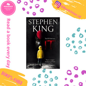 Harga it the classic book from stephen king with a new film tie in | HARGALOKA.COM