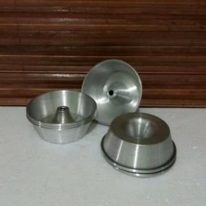 Harga 12 pcs cetakan loyang kue bolu tulban pulde mini donat 8 cm | HARGALOKA.COM