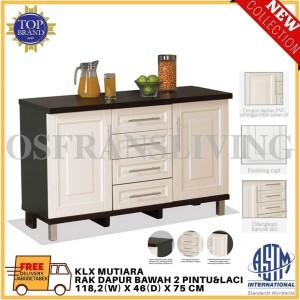 Harga olympic rak dapur bawah dua pintu dan laci klx mutiara harga | HARGALOKA.COM