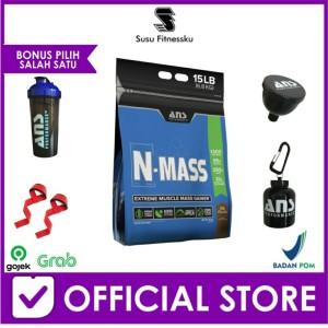 Harga suplemen fitness   ans n mass gainer 15 lbs   HARGALOKA.COM