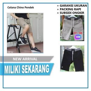 Harga celana pendek pria katok pendek pria chino lembut dan tidak | HARGALOKA.COM