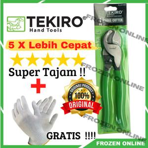 Info Tang Kupas Kabel Tekiro Tang Potong Kabel Cable Cutter 6 5 34 Katalog.or.id
