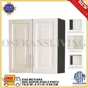 Harga olympic rak dapur atas dua pintu kad | HARGALOKA.COM