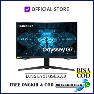 Harga monitor led samsung gaming odyssey g7 lc32g75 c32g75tqse 32 34 | HARGALOKA.COM