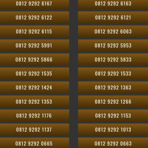 Harga nomor cantik simpati 4g 0812 9292 nomer kartu perdana telkomsel | HARGALOKA.COM