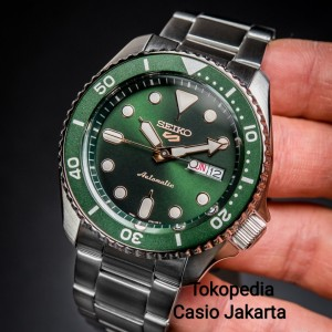 Harga seiko 5 sports srpd63k1 automatic green dial stainless   HARGALOKA.COM