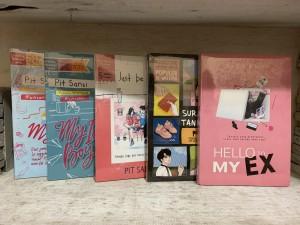 Harga paket 5 novel my ice boy my ice girl just be mine hello my ex surat | HARGALOKA.COM