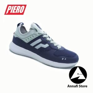 Harga jual sepatu sneakers pria piero jogger rs evo p20574   navy original   | HARGALOKA.COM