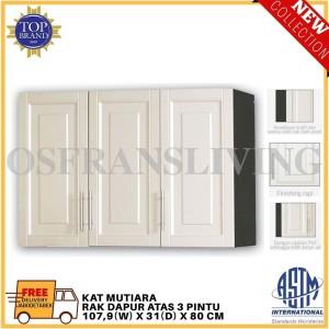 Harga olympic rak dapur atas tiga pintu kat mutiara harga | HARGALOKA.COM
