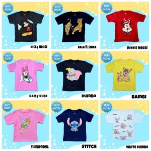 Harga baju kaos anak serial disney pusat grosir pakaian anak distro bandung   | HARGALOKA.COM