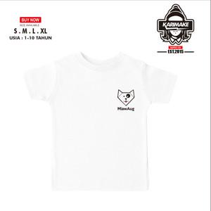 Harga kaos baju anak miawaug logo simple kaos game   | HARGALOKA.COM