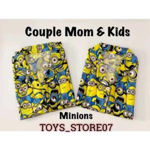Harga piyama couple mom and kids baju tidur ibu dan anak   HARGALOKA.COM