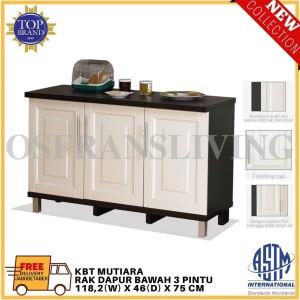 Harga olympic rak dapur bawah tiga pintu kbt mutiara harga | HARGALOKA.COM