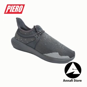 Harga jual sepatu sneakers pria piero runaway p20602   grey original   | HARGALOKA.COM