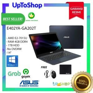 Harga asus e402ya ga202t amd e2 7015u 4gb ddr4 1tb windows 10 | HARGALOKA.COM