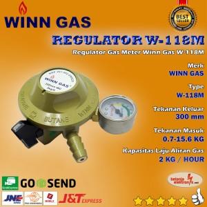 Harga regulator tekanan rendah winn gas w 118 | HARGALOKA.COM