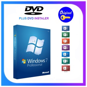 Harga dvd installer windows 7 pro lisensi key original | HARGALOKA.COM