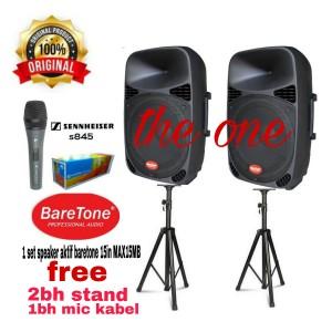 Harga speaker aktif baretone max 15 mb max15mb max   HARGALOKA.COM