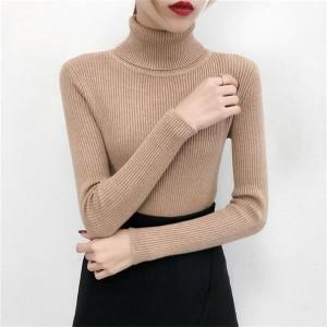 Harga turtleneck wanita manset rajut tebal termurah   | HARGALOKA.COM
