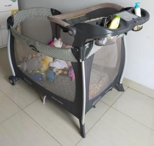 Harga graco pack n play baby box kasur bayi box bayi second grab go send | HARGALOKA.COM