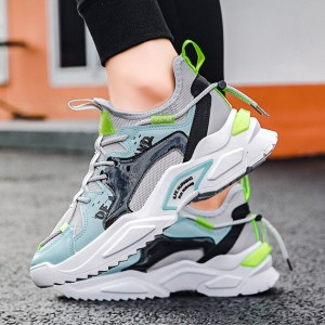 Harga sepatu pria sneakers import sepatu olahraga trendy original korea   hitam   HARGALOKA.COM