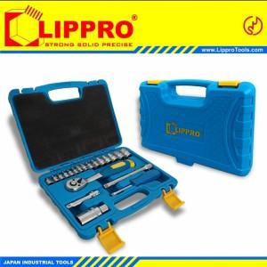 Harga kunci sok set 21 pcs lippro socket set 21pcs | HARGALOKA.COM