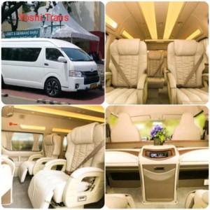 Harga sewa hiace luxury bekasi jogja 10 seat plus driver dan bahan   HARGALOKA.COM