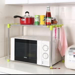 Harga rak microwave 2 susun rak dapur rak piring rak   HARGALOKA.COM