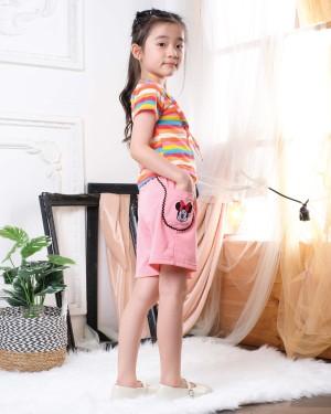 Harga setelan celana anak perempuan minnie   merah nomor | HARGALOKA.COM