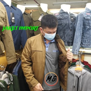 Harga jaket import fashion terbaru premium motor model pria laki laki   hijau | HARGALOKA.COM