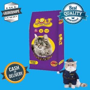 Harga makanan kucing bolt repack 5kg makanan hewan peliharaan   HARGALOKA.COM